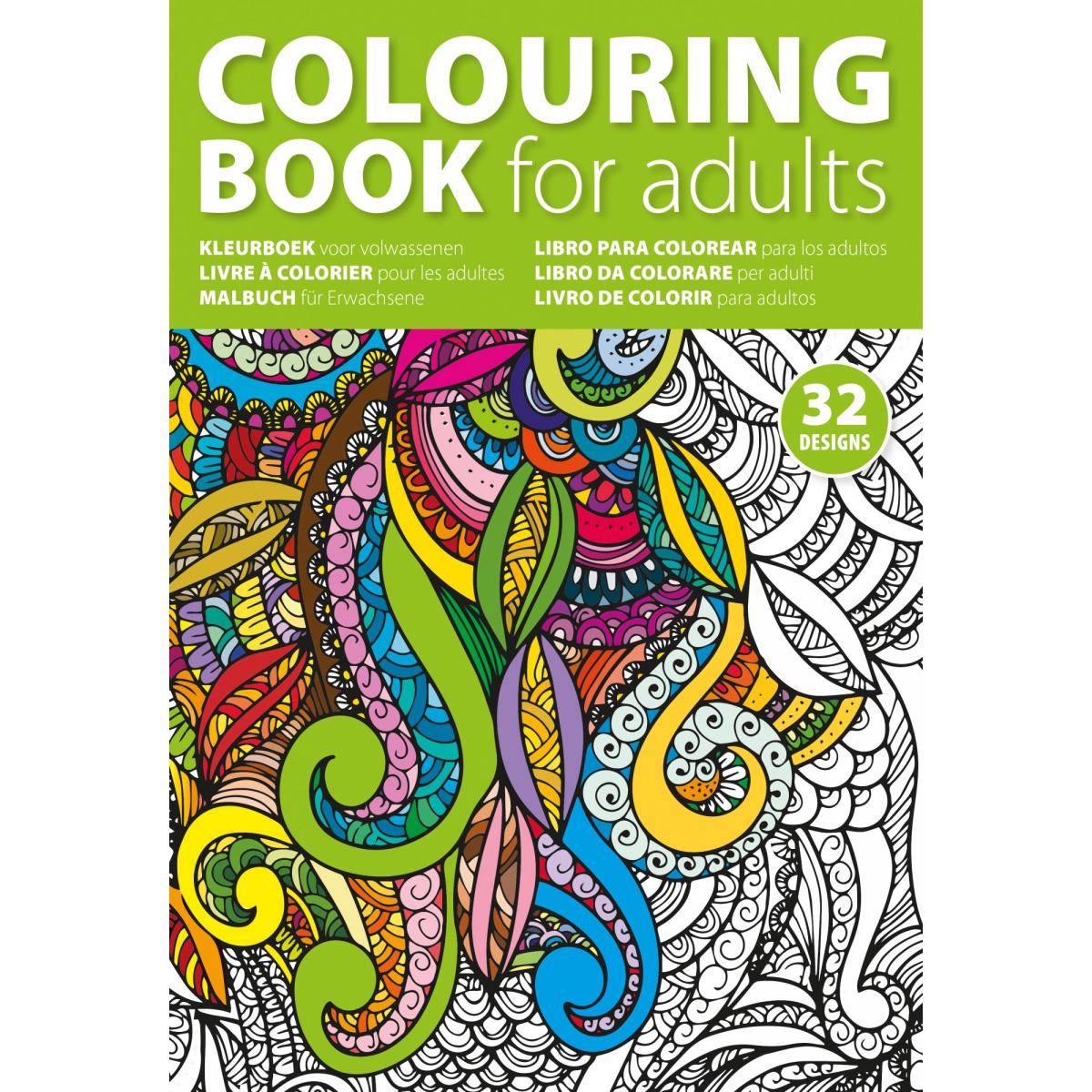 Kleurplaten Voor Volwassenen A4 Formaat.Kleurboeken Vanaf 0 91 Per Stuk Super Snel Nl